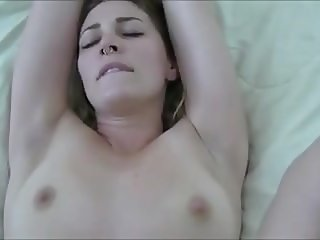 Nice amateur slut with tattoos and piercings gets fucked POV