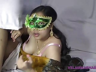 Mature Indian MILF Bhabhi Velamma Sucking Big Cock
