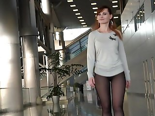 Beautiful red hair women - Exibition
