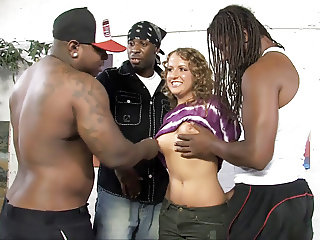 Shy Kennedy Dream Ravished By Big Black Cocks