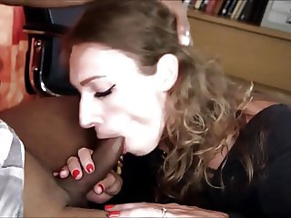 Hot & Sexy Slut Gets Fucked by Black Guy