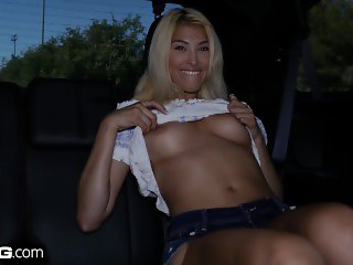 BANG Confessions - Stephanie West fucks the taxi driver