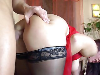 Chubby Mom Ass Creampie