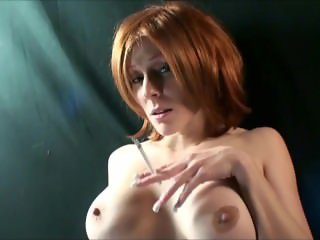 Redhead MILF Smoking 120s and fucking