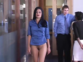 Bottomless Secretary FULL LENGTH BEST QUALITY Naked News Promo
