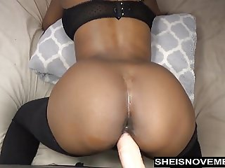 Sexy Ebony Msnovember Take Anal Dildo Doggystyle Live Webcam