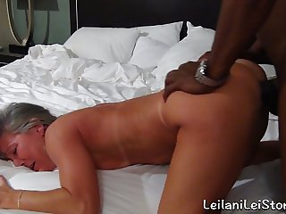 Sex at the Beach - Milf Fucks Her BBC Lover