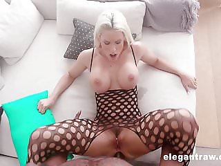 Blanche gets hardcore anal pounded by a huge black cock
