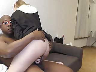Reverend Brown Preaches To a Young Nun 3