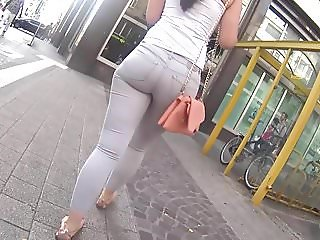 Hot Tight Ass In Jeans