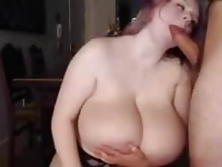 white bbw suck her roomates huge cock and make him cum