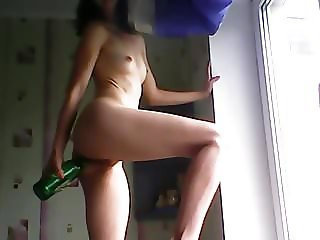 deep anal bottle insertion