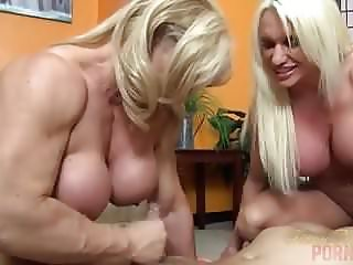 Naked Female Bodybuilders Sex Up Lucky Dude