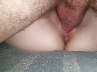 Friend fucks wife and pumps her full of cum