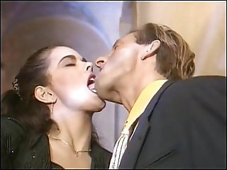 Angelica Bella Tongue Kiss & Handjob