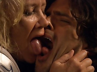 Sally Kirkland - Tongue Kissing GILF