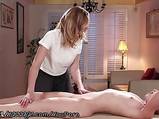 Sexy Dominating Masseuse MILF DOES NOT FUCK AROUND