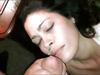 Wife Loves Cum on her Beautiful Face