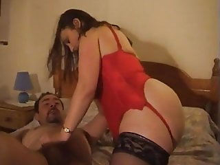 Chubby ass housewife fucked