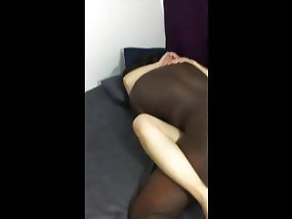 Amateur wife creaming on BBC