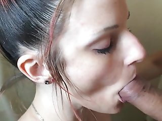 Hottie With Pink Hair - Amazing Deepthroat