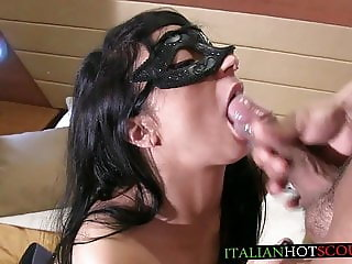 italian amateur cum in mouth