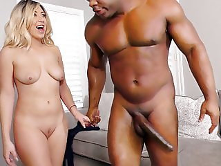 Anal Slut Summer Chase Fucks Davin King's Big Black Cock