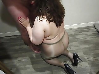 Pantyhose Blowjob August 2018 Part 2