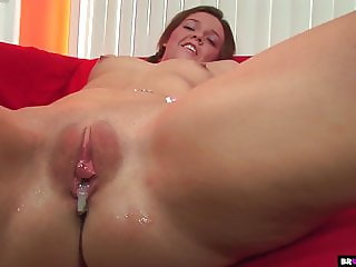 Petite Riley Winters Gets Creampied POV