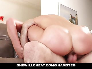 SheWillCheat - Cheating Wife Deepthroats Friends Cock