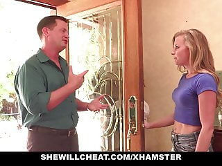 SheWillCheat - Slutty Wife Railed By Internet Guy