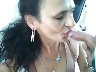 whore blows but does not like cum