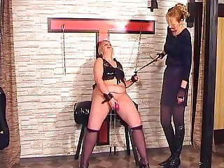 Mistress is punishing her slave