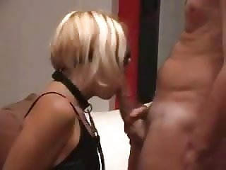 Submissive slave slut used