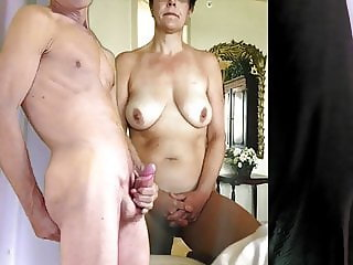 big boob wife gets my cum