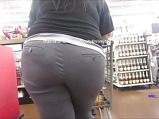 Big Booty Tight Slacks White Woman