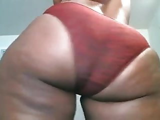 MY PHAT BOOTY TEASING IN MOIST PANTIES PART 2