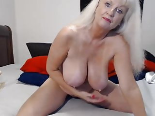 Busty GILF JOI and Creamy Dildoing