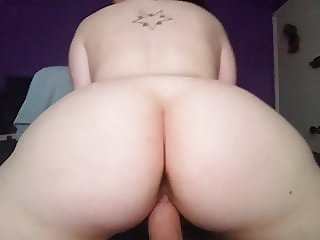 PAWG reverse cowgirl