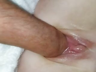 Wife's pussy fisted and gaping for more