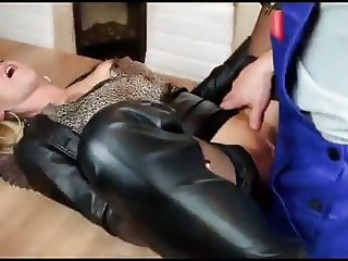 Horny German MILF Pays with Her Pussy with Huge Facials