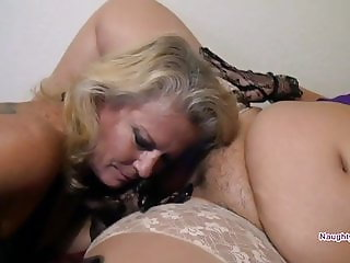 Desiree's first older woman sex