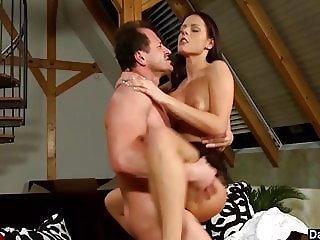 Cute Brunette Kara Has A Wild Cock Ride
