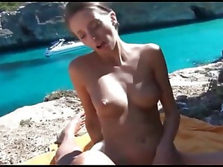 Skinny German Teen Outdoor Anal Sex