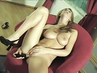 Hot 40 year old with her dildo
