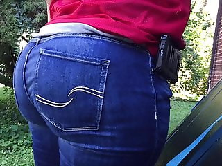 OMG Hips and Ass Big Booty PAWG Tight Jeans