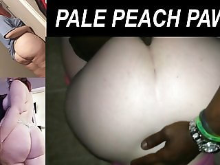 Pale Peach Pawg Gettin it Doggy