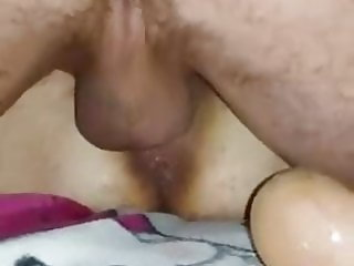 Milf Mom Squirting Big White Cock Cuckold