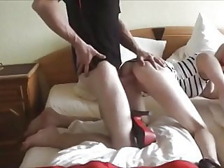 Hot German Blonde Enjoying Amazing Homemade Sex