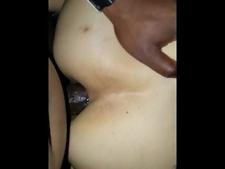 White Punk-Rocker chick taking my BBC deep in here Pussy & ASS!!!